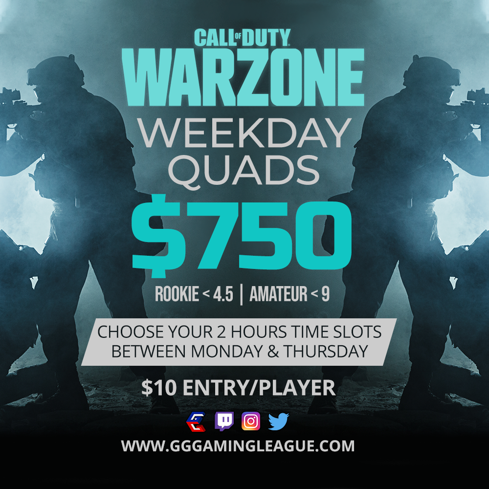 6.28 – 7.2 | Warzone Quads